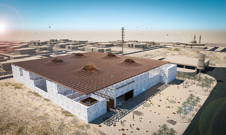 Take a look around the upcoming Barjeel Museum For Modern Arab Art in Sharjah