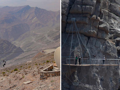 New adventure activities coming to Ras Al Khaimah's Jebel Jais