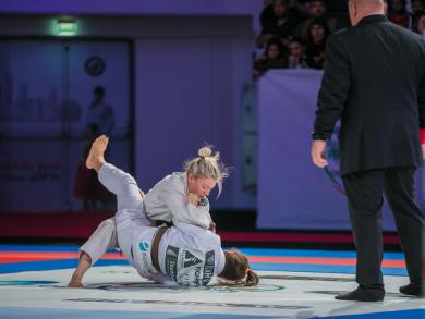 You can now watch UAE Jiu Jitsu matches free online in Abu Dhabi