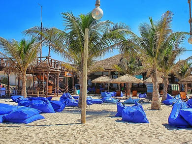 Umm Al Quwain has a dog-friendly beach and café