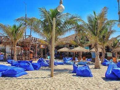 Umm Al Quwain has a dog-friendly beach and café
