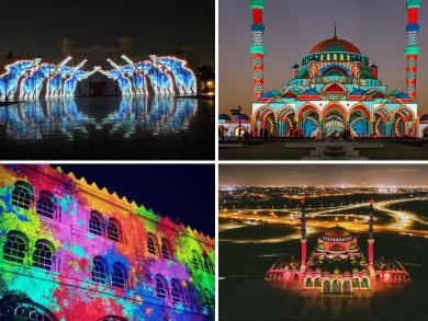 Sharjah Light Festival 2020: Ten of the best snaps so far