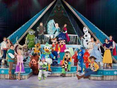 Disney on Ice presents Frozen is coming to Abu Dhabi's brand-new Etihad Arena