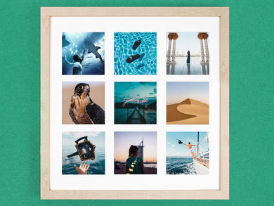 A new online picture framing service has launched in the UAE