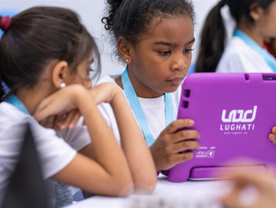 Primary school students in Sharjah given tablets for home learning