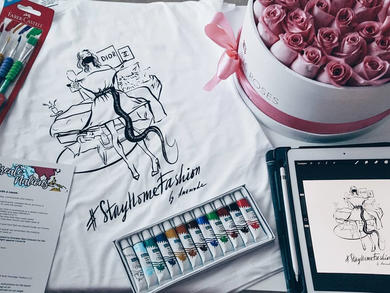 Make your own DIY t-shirts with UAE artists to support COVID-19 health workers