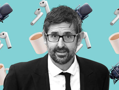 You can listen to Louis Theroux's first ever podcast here in the UAE