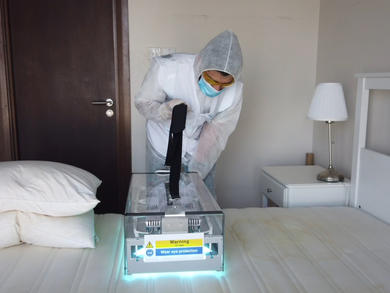 How to thoroughly disinfect your home in the UAE