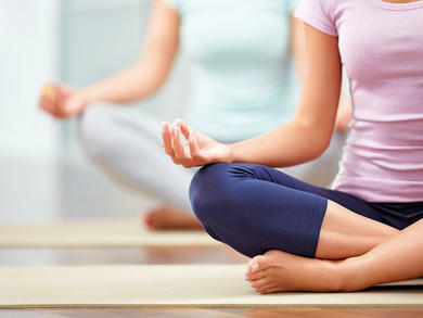 Home yoga tips to help relax and unwind