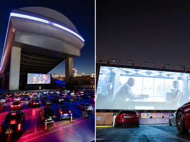Drive-in cinemas to check out in the UAE