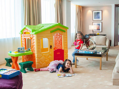 InterContinental Dubai Festival City has launched a cool family-friendly staycation
