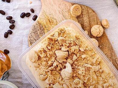 Recipe: Salted caramel latte ice cream
