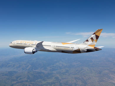 Abu Dhabi's Etihad Airways now operating to 58 worldwide destinations