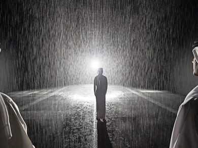 Sharjah's Rain Room to reopen