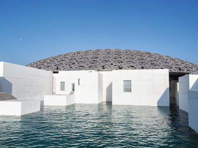 Under 18s get into Louvre Abu Dhabi for free right now