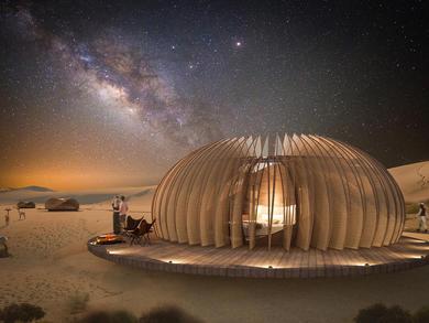 Stunning desert hotel project in Abu Dhabi revealed