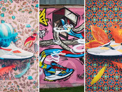 Reebok MENA teams up with UAE-based artists for the Classic Leather Legacy launch