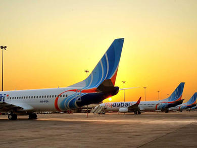 Where is flydubai flying to?
