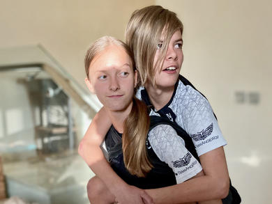 Dubai's Team AngelWolf siblings will virtually climb Sydney Opera House